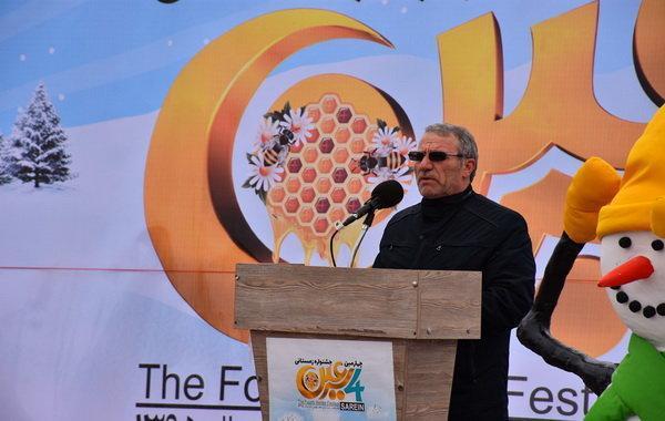 چهارمین جشنواره زمستانی سرعین کار خود را آغاز کرد